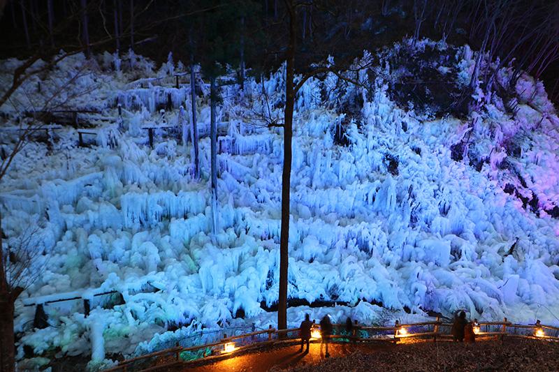 氷柱ライトアップツアー