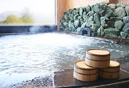 天然温泉大露天風呂もご利用可能